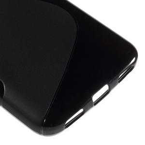 S-line gelový obal na mobil Huawei Y6 - černý - 5