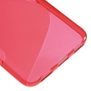 S-line gelový obal na mobil Huawei Y6 - červený - 5