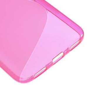 S-line gelový obal na mobil Huawei Y6 - rose - 5