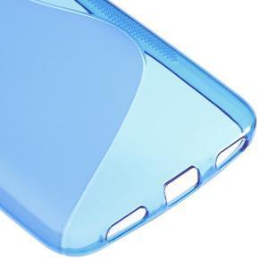 S-line gelový obal na mobil Huawei Y6 - modrý - 5