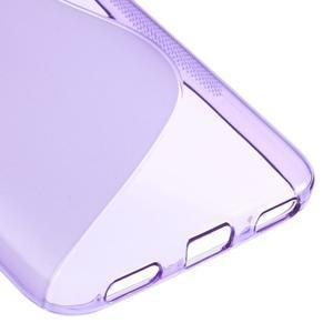 S-line gelový obal na mobil Huawei Y6 - fialový - 5