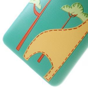 Softy gelový obal na mobil Huawei Y6 - žirafa - 5