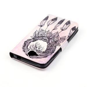 Knížkové pouzdro na mobil Huawei Y6 Pro - snění - 5