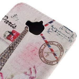 Emotive peněženkové pouzdro na mobil Huawei Y6 Pro - Eiffelova věž - 5