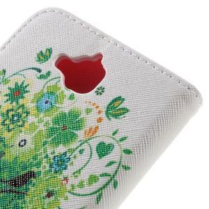 Emotive peňaženkové puzdro na mobil Huawei Y6 Pro - zelený strom - 5