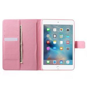 Štýlové puzdro pre iPad mini 4 - kvetiny - 5