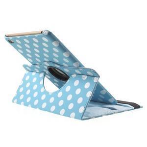 Cyrc otočné puzdro pre iPad mini 4 - svetlo modré - 5