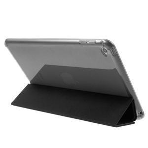 Trifold trojpolohový puzdro pre tablet iPad mini 4 - čierne - 5