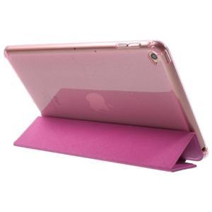 Trifold trojpolohové pouzdro na tablet iPad mini 4 - rose - 5