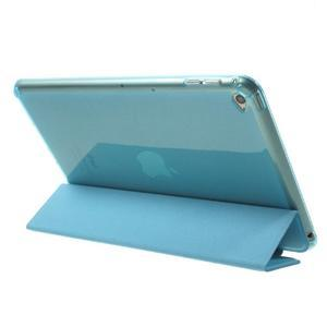Trifold trojpolohový puzdro pre tablet iPad mini 4 - modré - 5