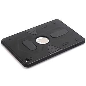 Outdoor dvoudílný gélový/plastový obal pre iPad mini 4 - čierne - 5