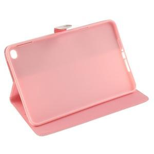 Standy pouzdro na tablet iPad mini 4 - barevná peříčka - 5