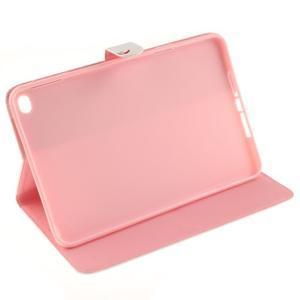 Standy puzdro pre tablet iPad mini 4 - vtačie pierko - 5