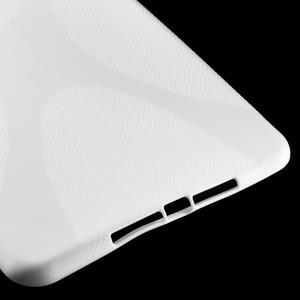 X-line gélový obal pre tablet iPad mini 4 - biele - 5