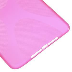 X-line gélový obal pre tablet iPad mini 4 - rose - 5
