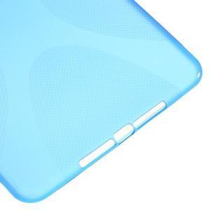 X-line gélový obal pre tablet iPad mini 4 - modrý - 5