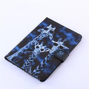 Knížkové pouzdro na tablet iPad mini 4 - žirafy - 5