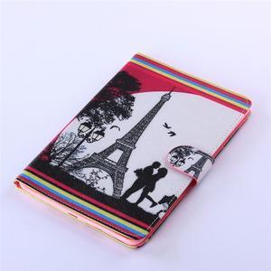 Knížkové pouzdro na tablet iPad mini 4 - Eiffelova věž - 5