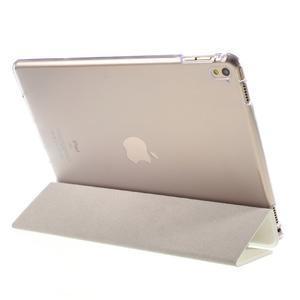 Trifold polohovatelné pouzdro na tablet iPad Pro 9.7 - bílé - 5