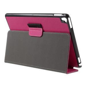 Clothy PU kožené pouzdro na iPad Pro 9.7 - rose - 5