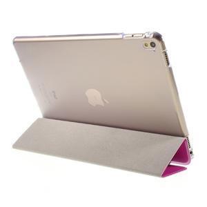 Trifold polohovatelné pouzdro na tablet iPad Pro 9.7 - rose - 5
