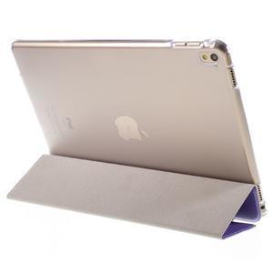 Trifold polohovateľné puzdro pre tablet iPad Pro 9.7 - fialové - 5