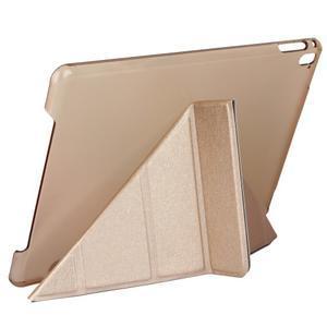 Extra origami polohovateľné puzdro pre iPad Pro 9.7 - ružové - 5