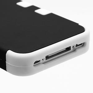 Extreme odolný kryt 3v1 na mobil iPhone 4 - bílý - 5