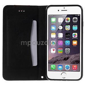 Klopové puzdro na iPhone 6 a iPhone 6s - čierne - 5