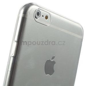 Ultra slim lesklý gélový obal pre iPhone 6 Plus a 6s Plus - transparentný - 5