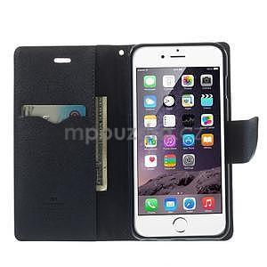 Peňaženkové puzdro pre iPhone 6 Plus a 6s Plus -  červené - 5