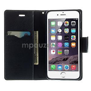 Peňaženkové puzdro pre iPhone 6 Plus a 6s Plus - zelené - 5