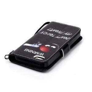 Peňaženkové puzdro pre mobil iPhone SE / 5s / 5 - nesiaha - 5