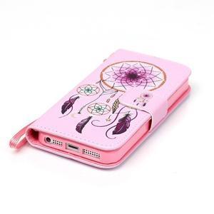 Peňaženkové puzdro pre mobil iPhone SE / 5s / 5 - dream - 5