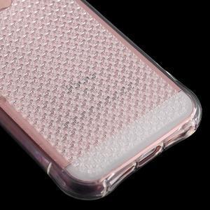 Diamnods gelový obal se silným obvodem na iPhone SE / 5s / 5 - transparentní - 5