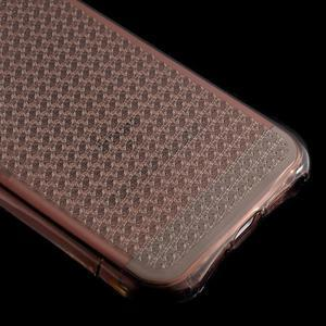 Diamonds gélový obal se silným obvodom na iPhone SE / 5s / 5 - sivý - 5