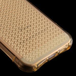 Diamnods gelový obal se silným obvodem na iPhone SE / 5s / 5 - zlatý - 5