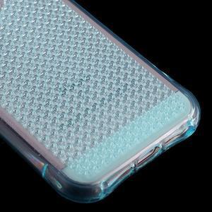 Diamnods gelový obal se silným obvodem na iPhone SE / 5s / 5 - modrý - 5