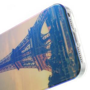 Blueray gelový obal s odlesky na iPhone SE / 5s / 5 - Eiffelova věž - 5