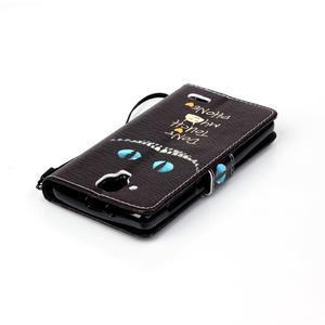Emotive pouzdro na mobil Lenovo A536 - varování - 5