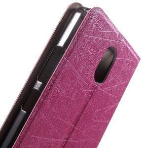 Klopové puzdro pre mobil Lenovo Vibe P1m - rose - 5