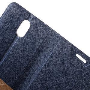Klopové puzdro na mobil Lenovo Vibe P1m - tmavo modré - 5
