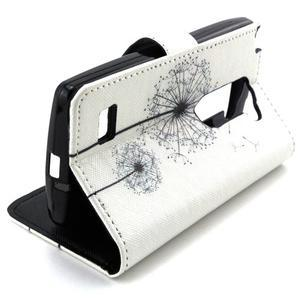 Style peňaženkové puzdro pre LG Leon - púpavy - 5