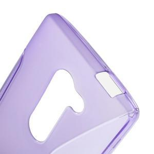 S-line gélový obal pre mobil LG Leon - fialový - 5