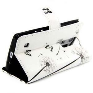 Peňaženkové PU kožené puzdro pre LG Leon - láska - 5