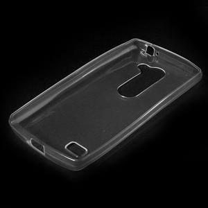 Ultratenký gélový obal pre mobil LG Leon - transparentný - 5