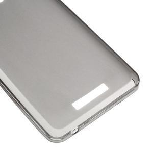 Gélový obal pre mobil Lenovo A5000 - šedé - 5