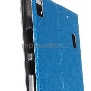 Klopové puzdro na Lenovo A7000 a Lenovo K3 Note -  svetlomodré - 5