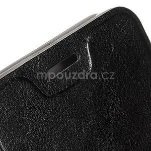 Hardy peňaženkové puzdro pre Lenovo A7000 a Lenovo K3 Note - čierne - 5