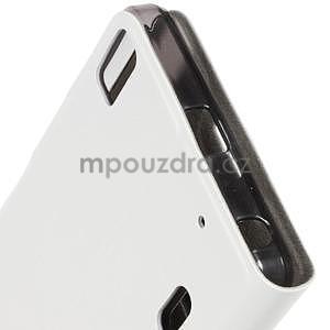 Hardy peňaženkové puzdro pre Lenovo A7000 a Lenovo K3 Note -  biele - 5